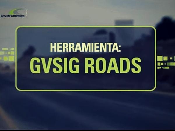Video gvSIG Roads: gestión integral de carreteras para la Diputación de Valencia